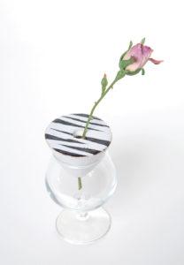 vasastútur, flower props, ceramic, keramík hönnun