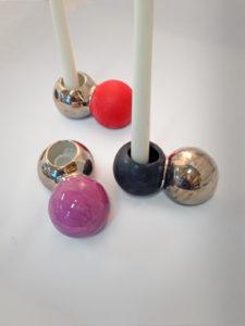 Pepples kertastjaki - vasi, candlestick, vase, ceramic, keramík hönnun